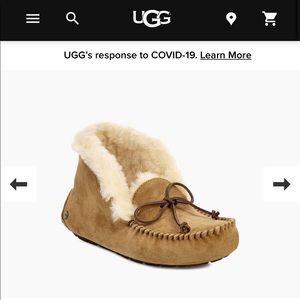 UGG Alena moccasin slippers